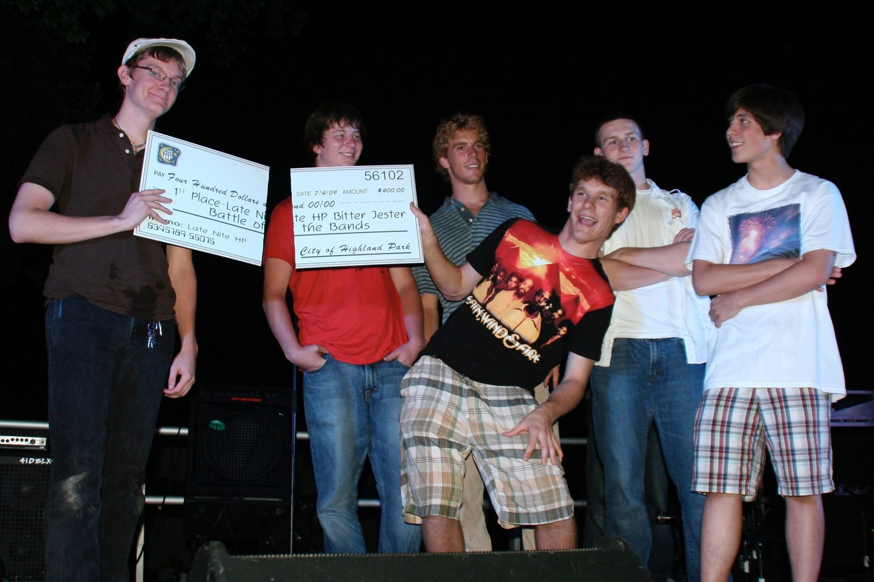 2009 Grand Champions (tied): The Burrows 4 and Maq (photo: Ken Thompson)