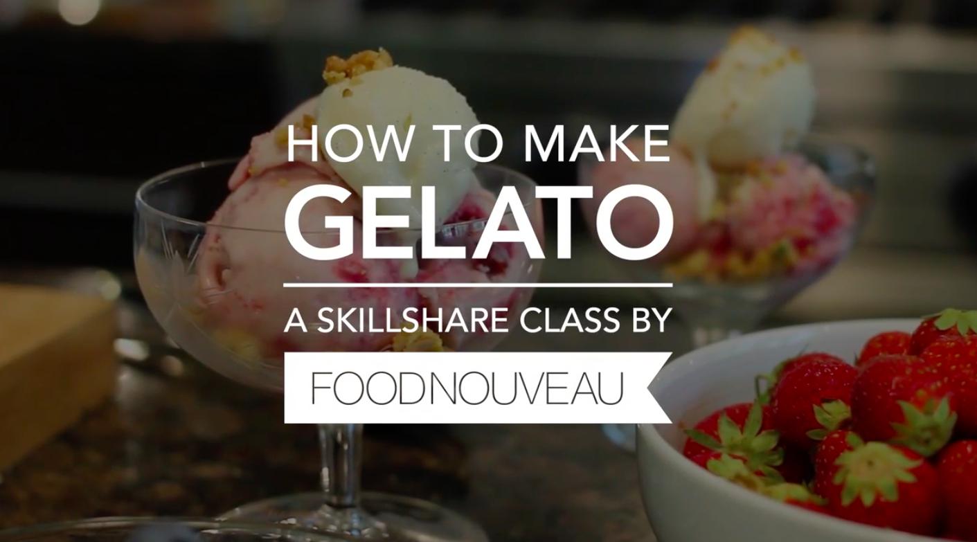 gelato culinary class