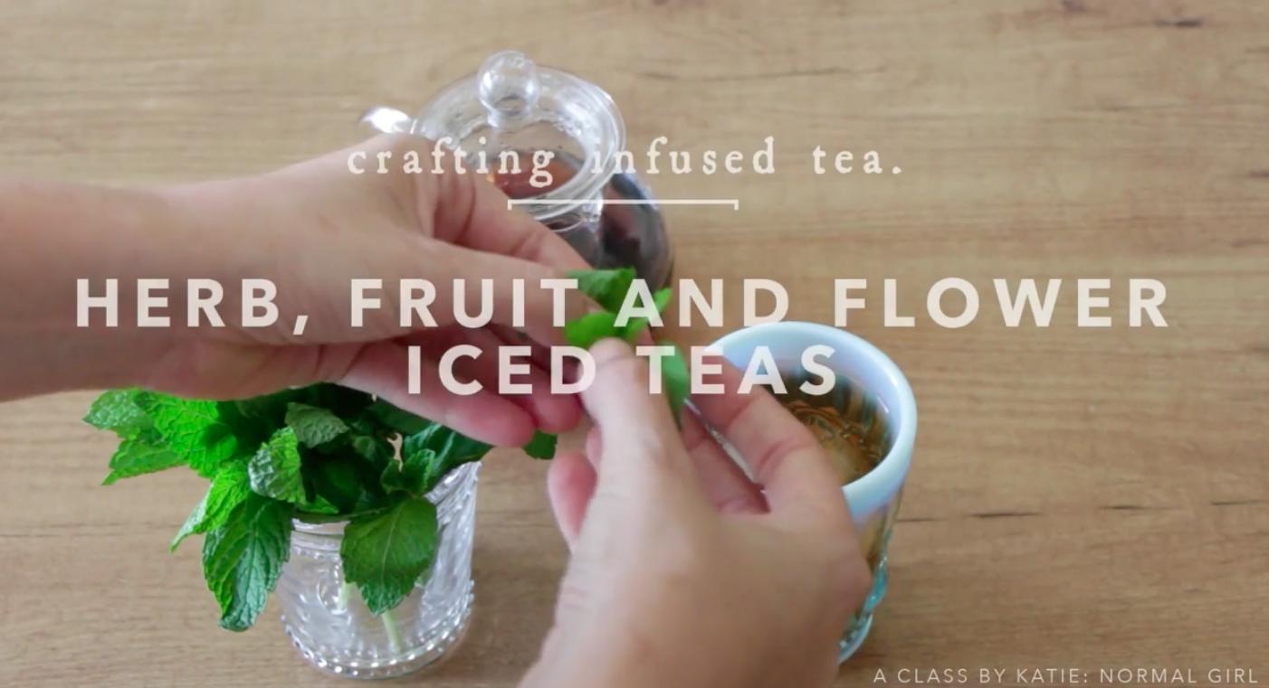 infusing tea culinary class