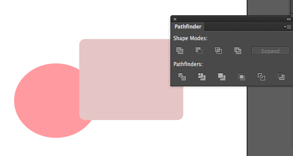 how to show or hide pathfinder on illustrator