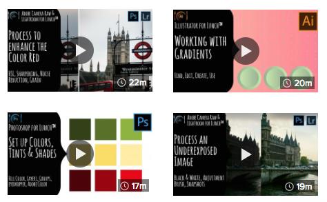 A snapshot of  Helen Bradley's  Skillshare channel