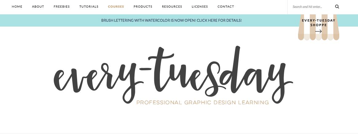 Teela Cunningham's design blog, every-tuesday