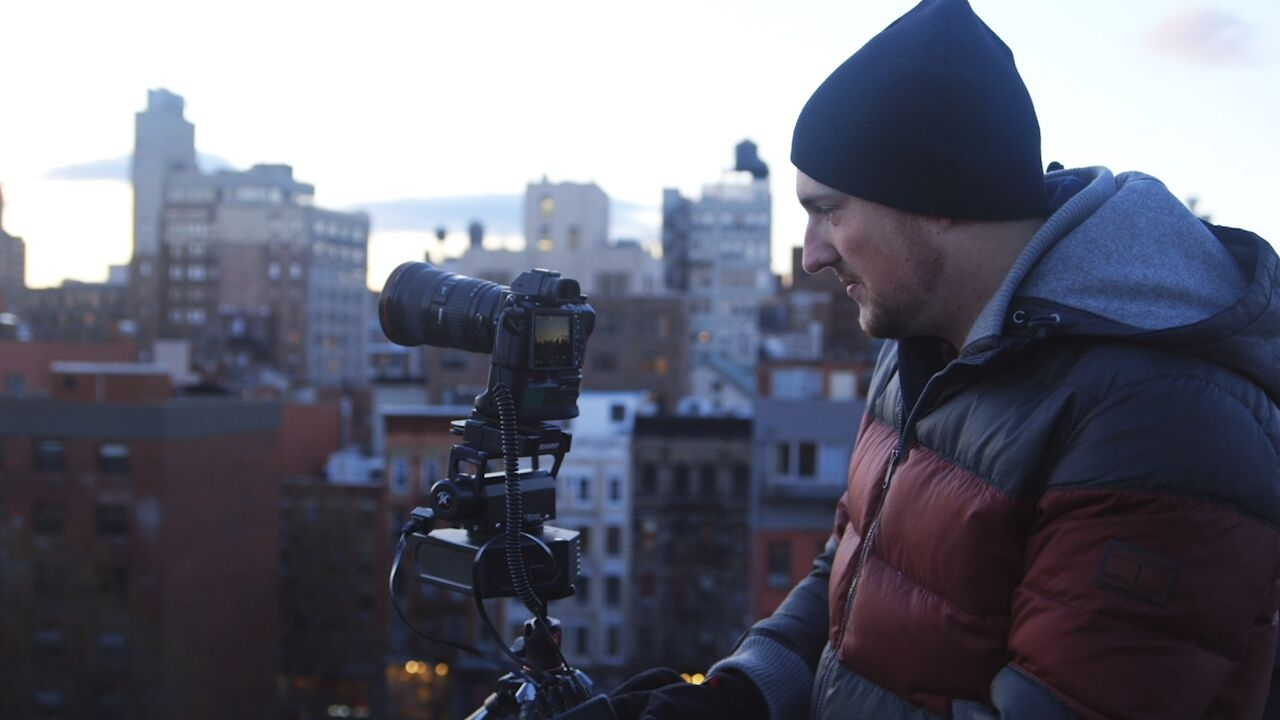 Demonstrating a more advanced technique, Drew sets up a motion-controlled time-lapse in  his Skillshare class.