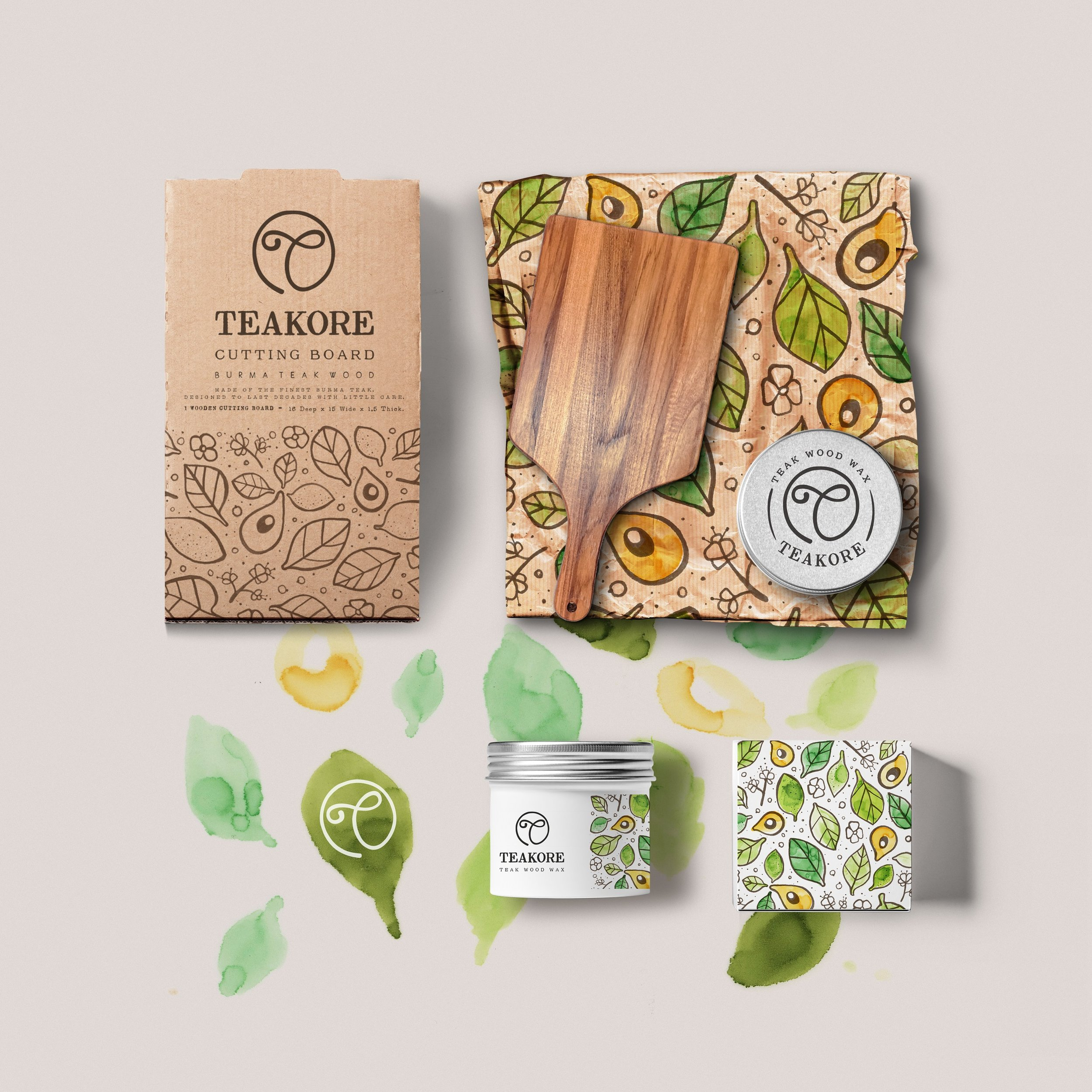 Brand Identity Pack by Martis Lupus for Teakore