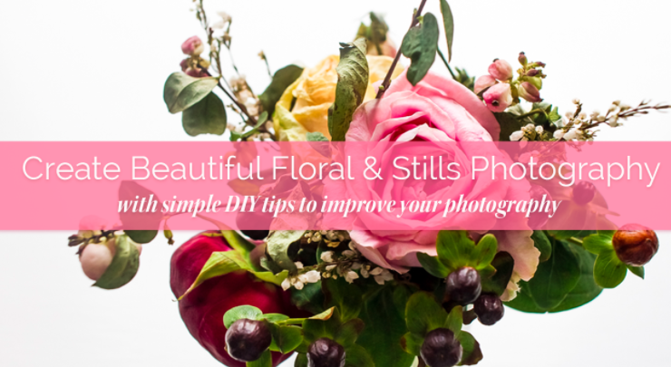 Rebecca  will teach you take beautiful pictures of florals and stills
