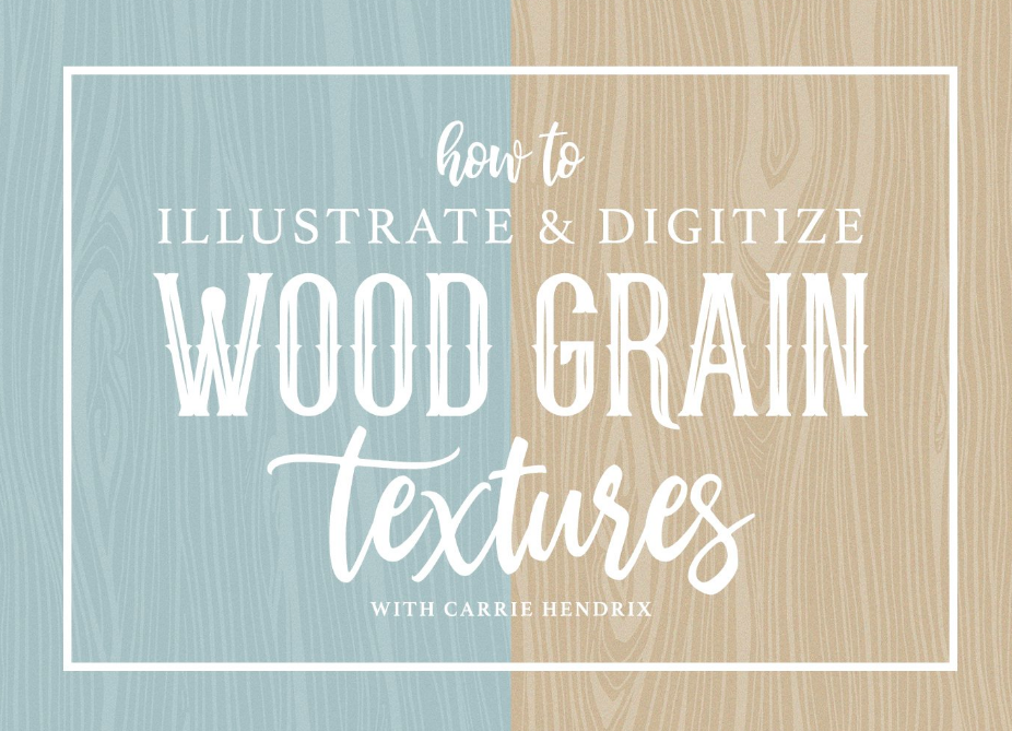 Dive into the step-by-step process of creating wood textures with Carrie