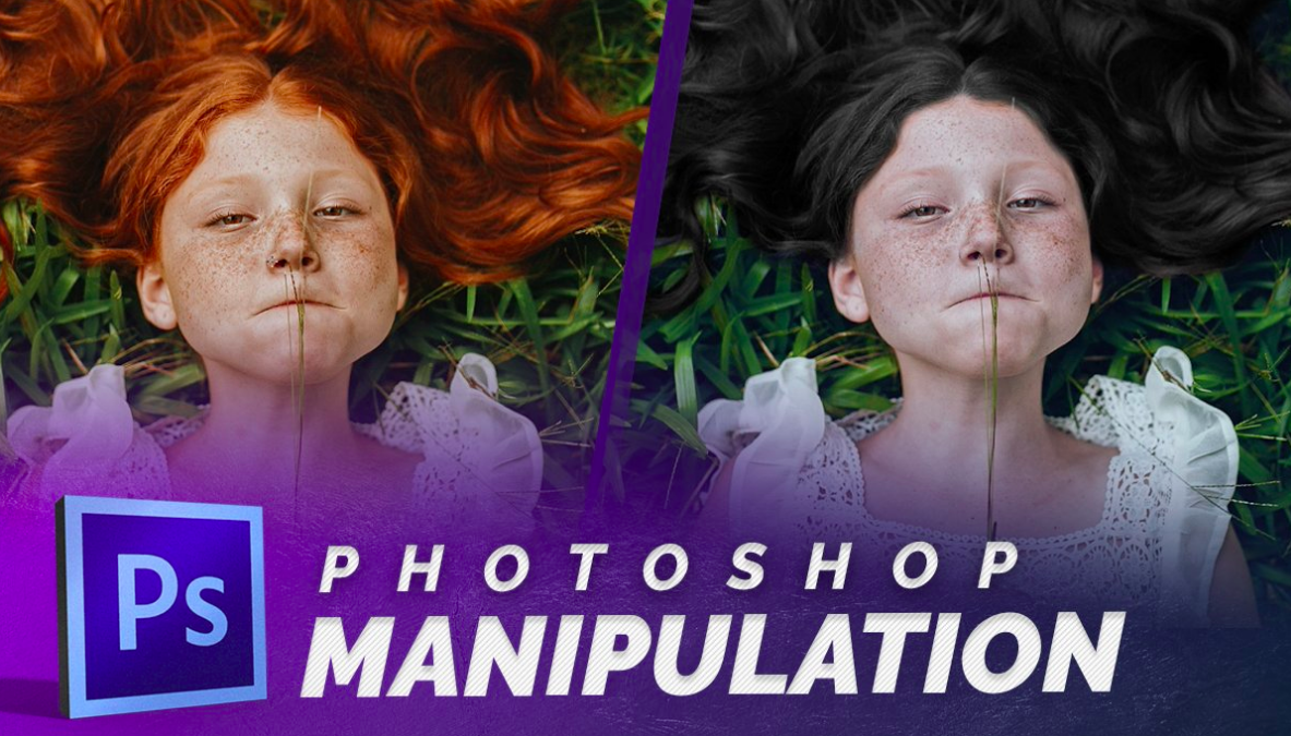 Lindsay shares simple photoshop manipulations such as dynamic changes to hair color