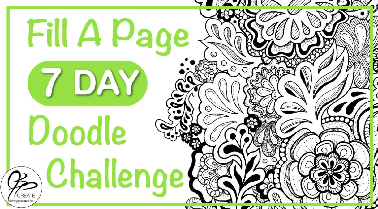 Embark on a 7 day doodling challenge with Jane