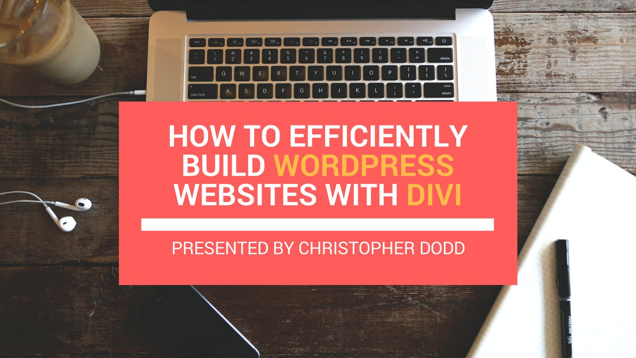 Develop Wordpress websites using customized premium themes with Christopher