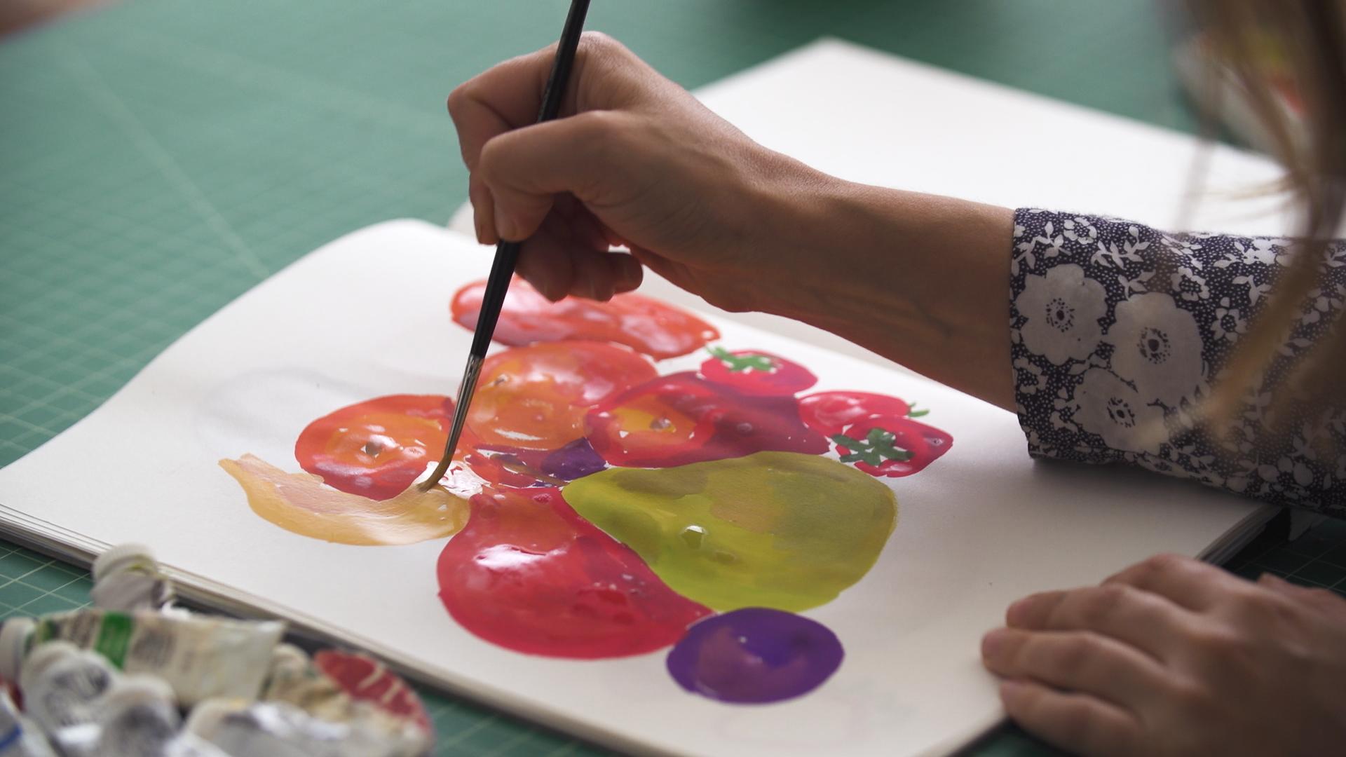 The Beginner S Guide To Gouache Painting Skillshare