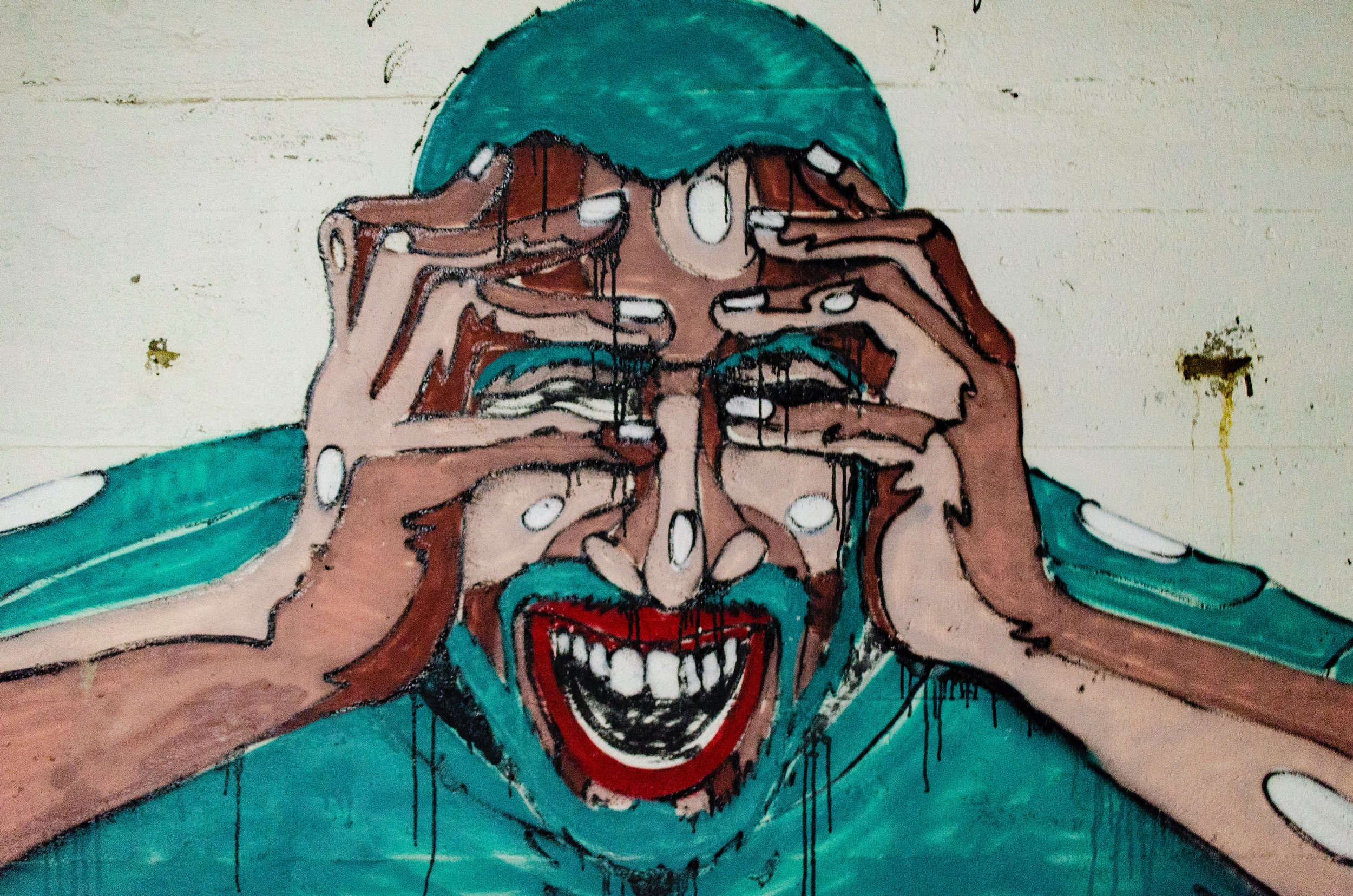 This subject might be stressed, but the artist that painted him isn't ( image source )