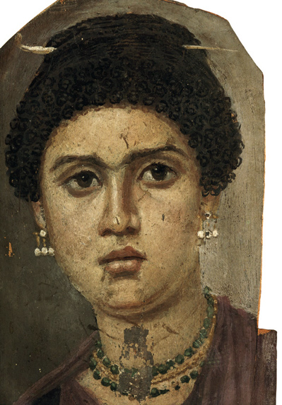The art of portraiture is as old as recorded history.   Fayum Mummy Portrait,  Unknown, 100A.D. (i mage source )