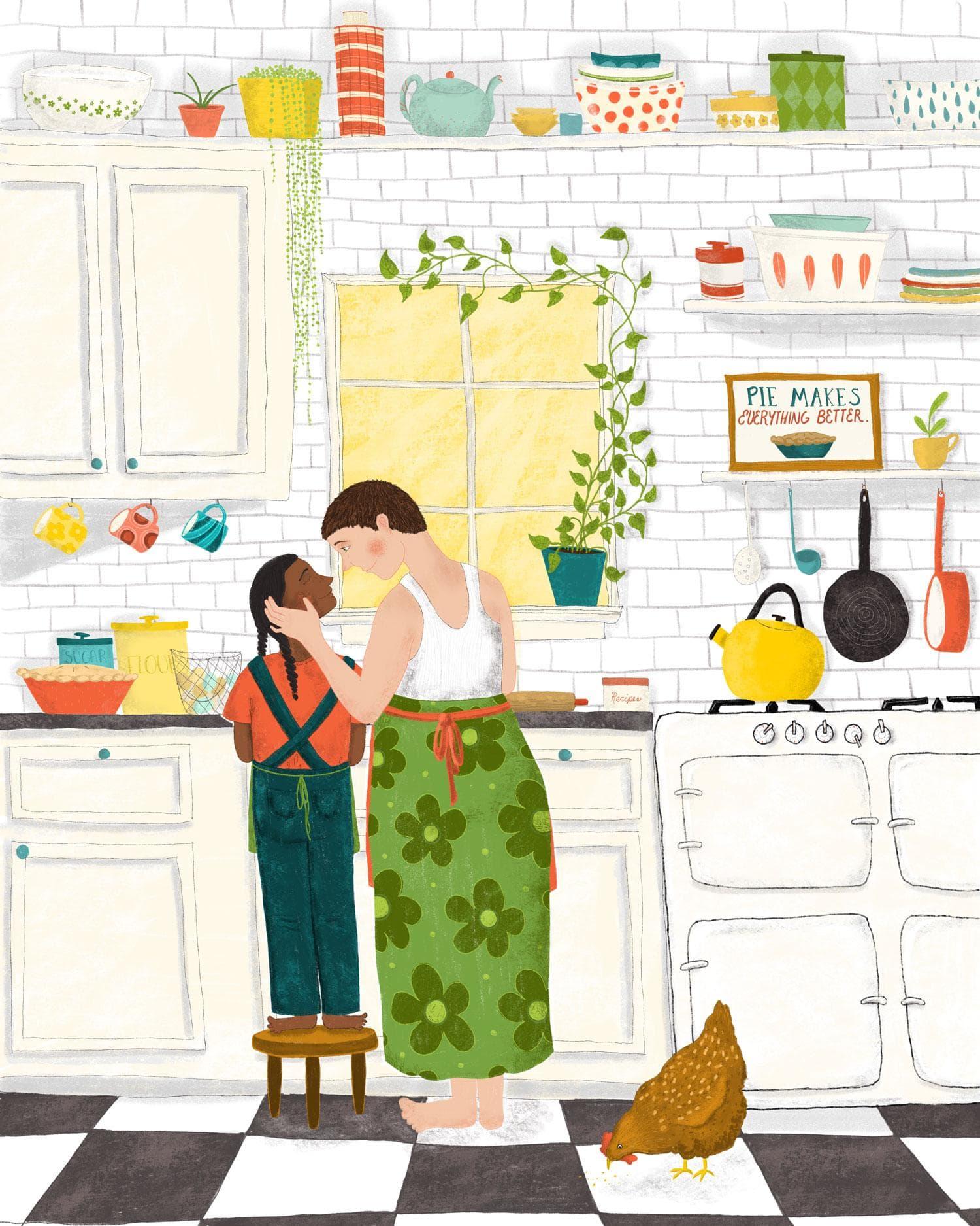 Baking Day  by Bee Joy E.