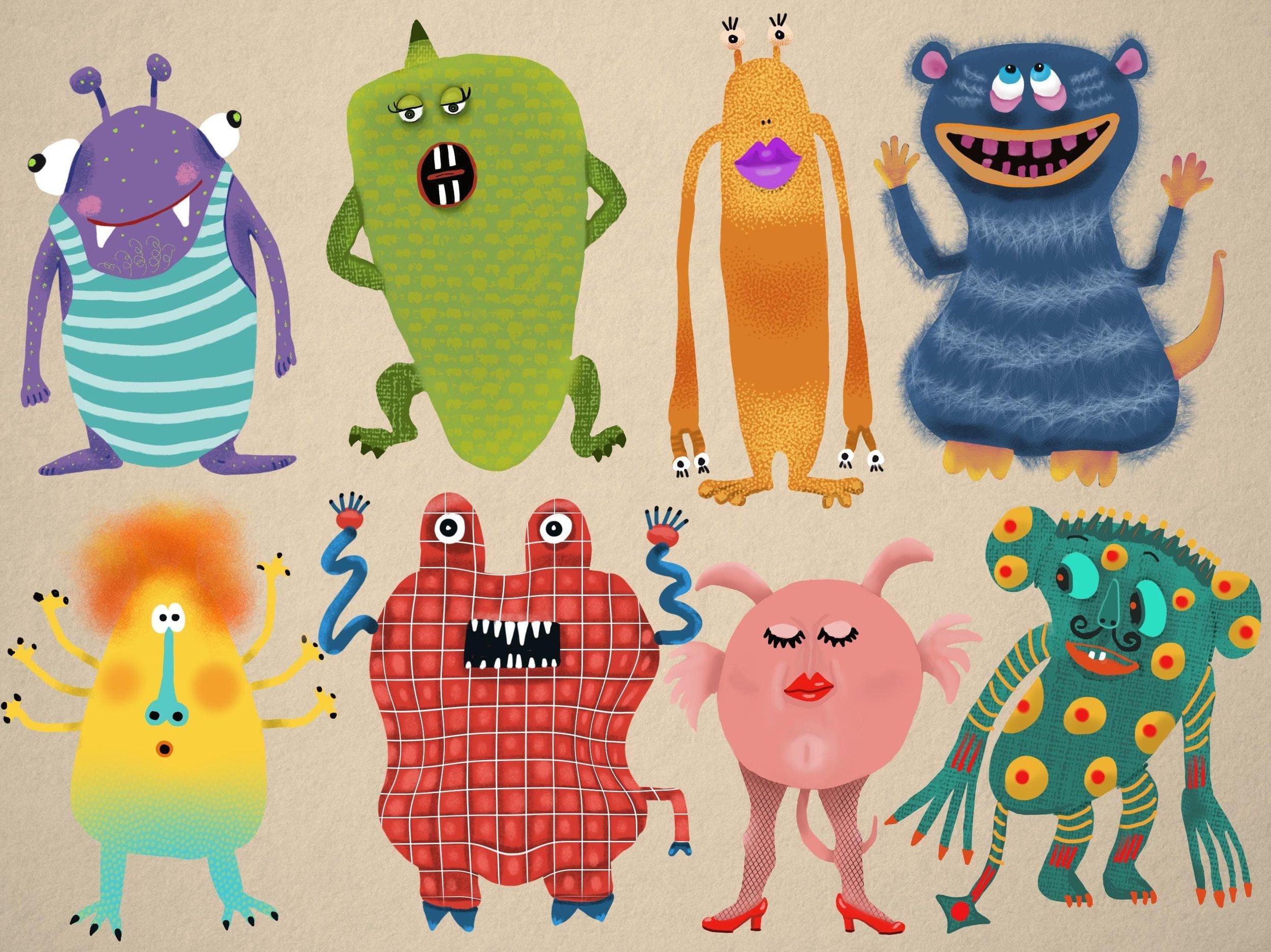 My Monsters  by Ariel N.