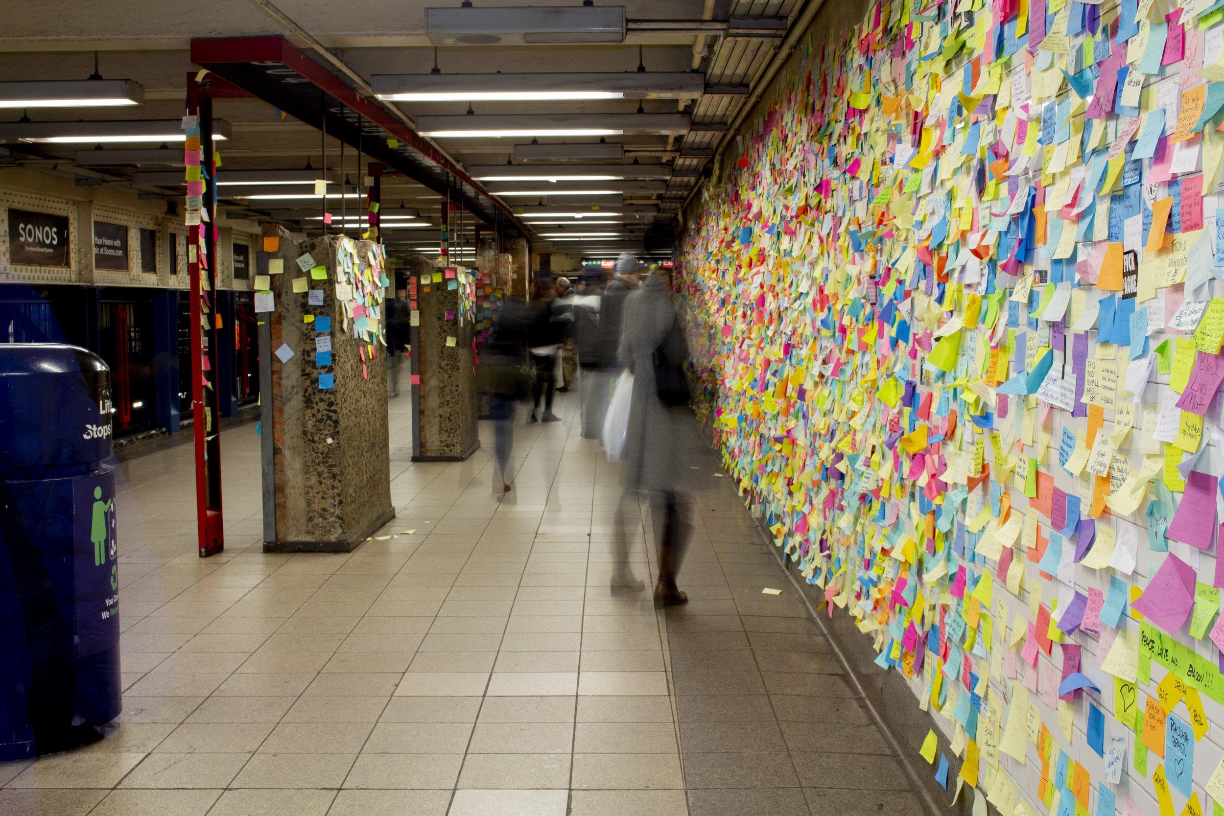 """Subway Therapy ©   Matthew """"Levee"""" Chavez"""