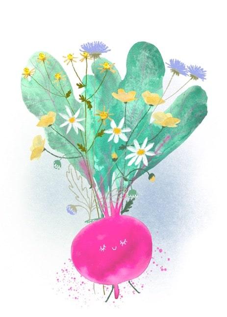Image: Happy Beet by Tatjana Mai-Wyss