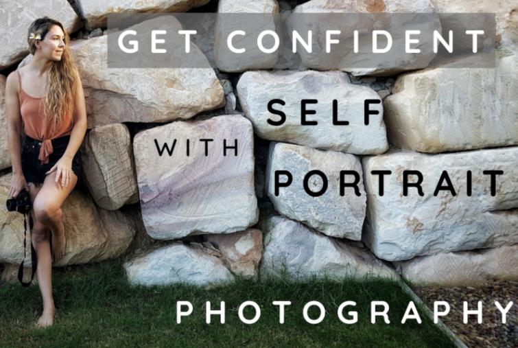 Jess  walks through her creative process for capturing self-portraits.