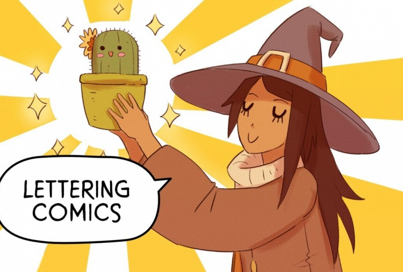 Maarika  shares her best practices for creating text layouts for webcomics, graphic novels and comic strips.