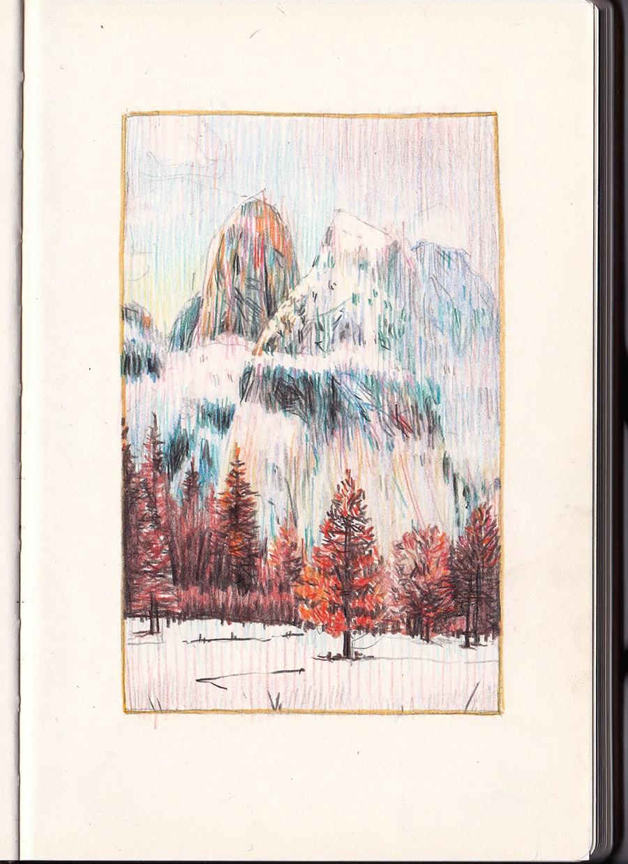Sketchbook Page V © Oriol Angrill