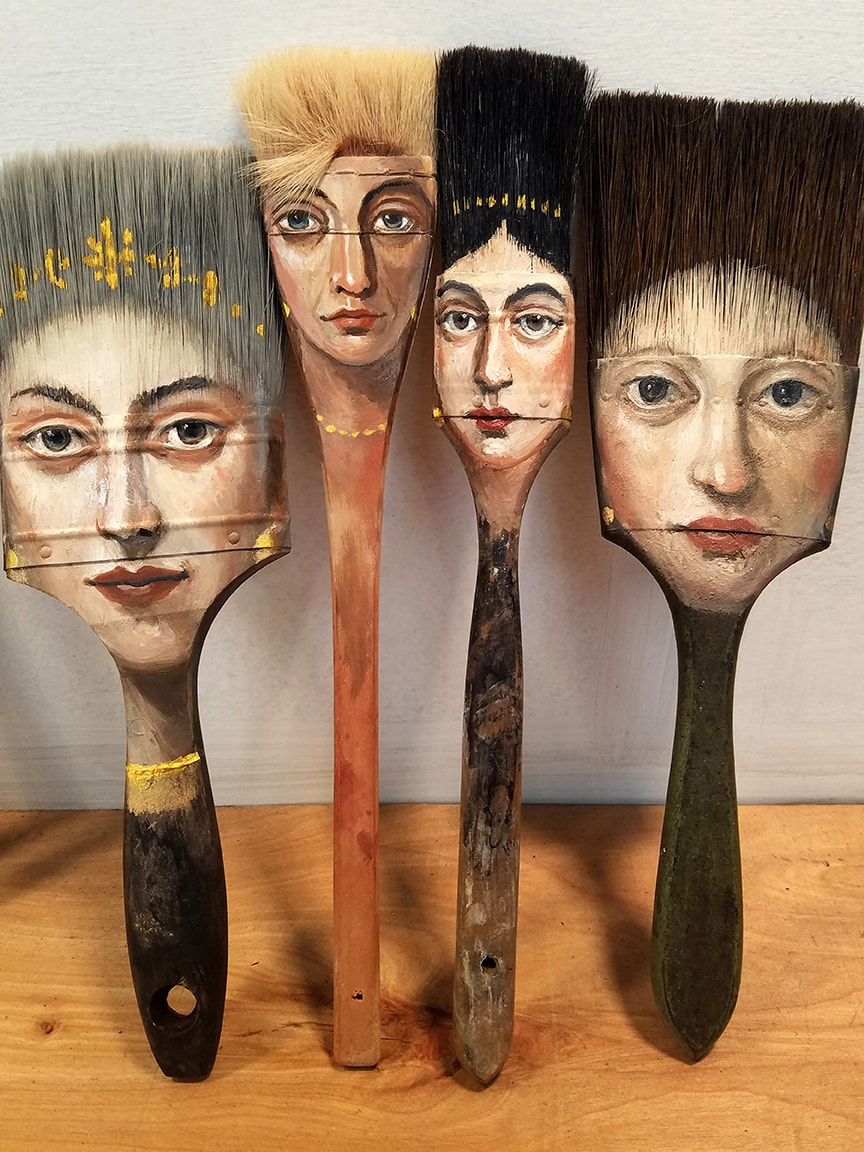 Four Ladies by Alexandra Dillon