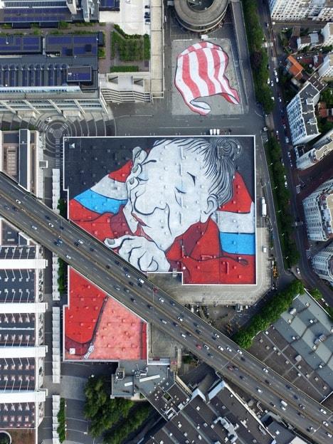 Gran'ma on the roof (Paris, France, 2019) © ELLA & PITR