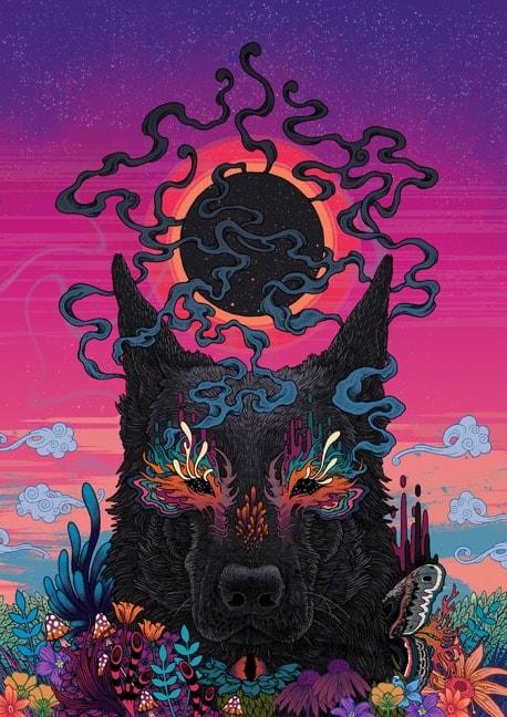Black Eyed Dog by Mat Miller