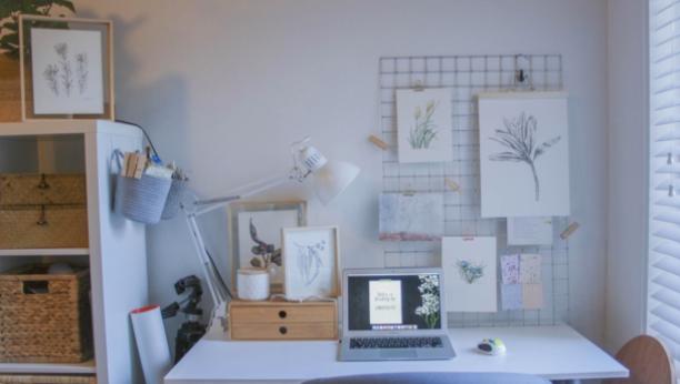 How To Set Up A Home Art Studio On A Budget Skillshare