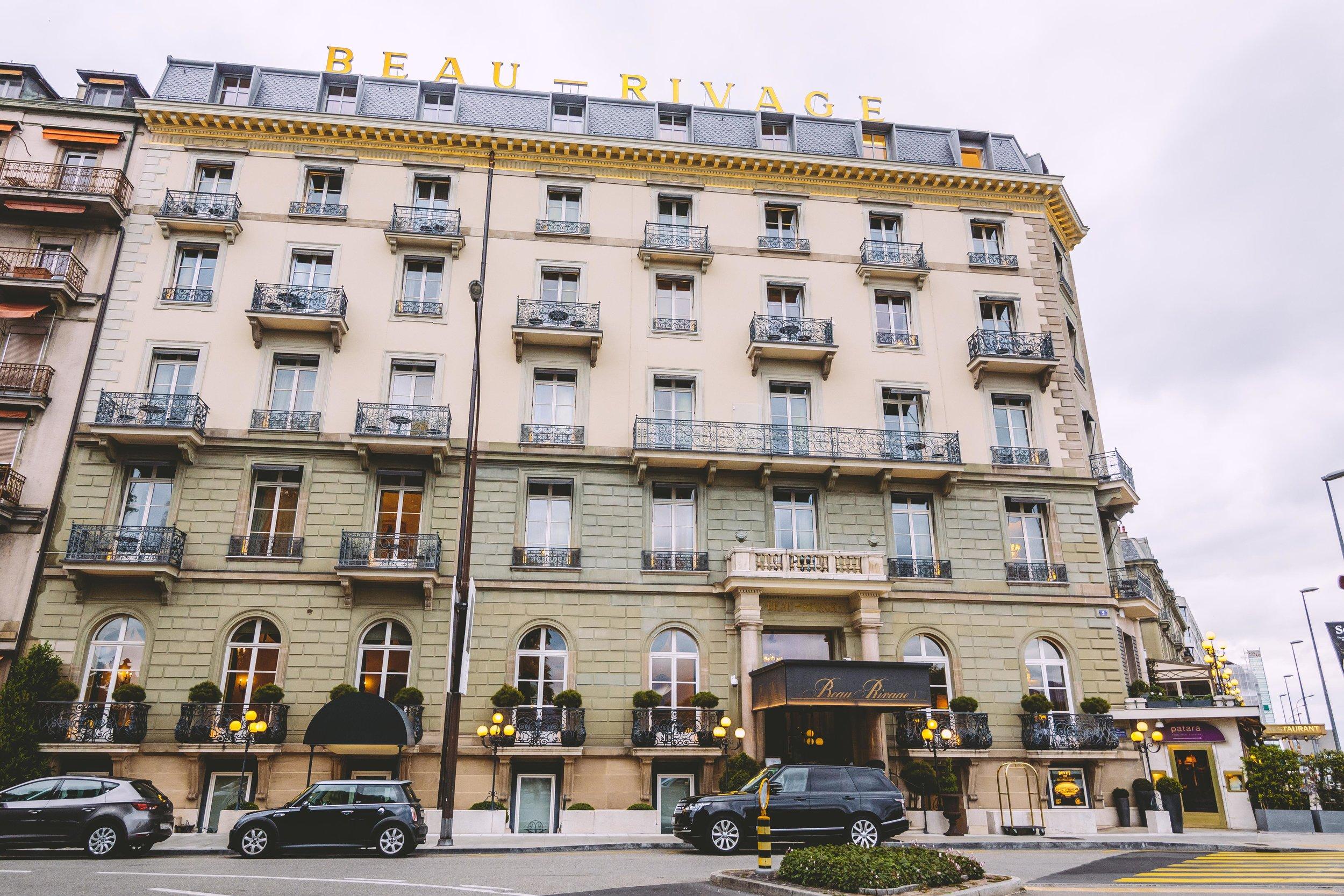 Checking In: Hotel Beau Rivage (Geneva, Switzerland) // #readysetjetset #geneva #switzerland #europe #hotels #luxuryhotels www.readysetjetset.net