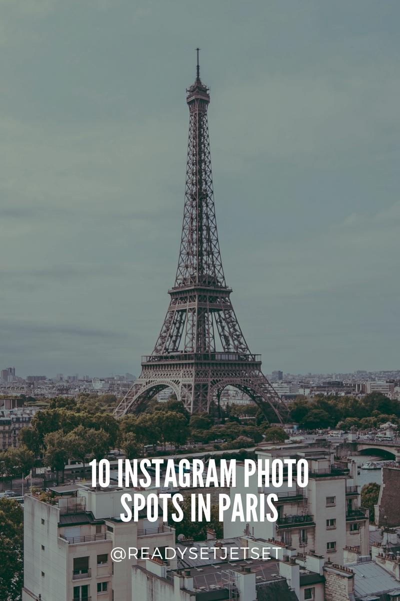 10 Instagram Photo Spots in Paris That You Have To Visit // #readysetjetset #paris #france #photoguide www.readysetjetset.net