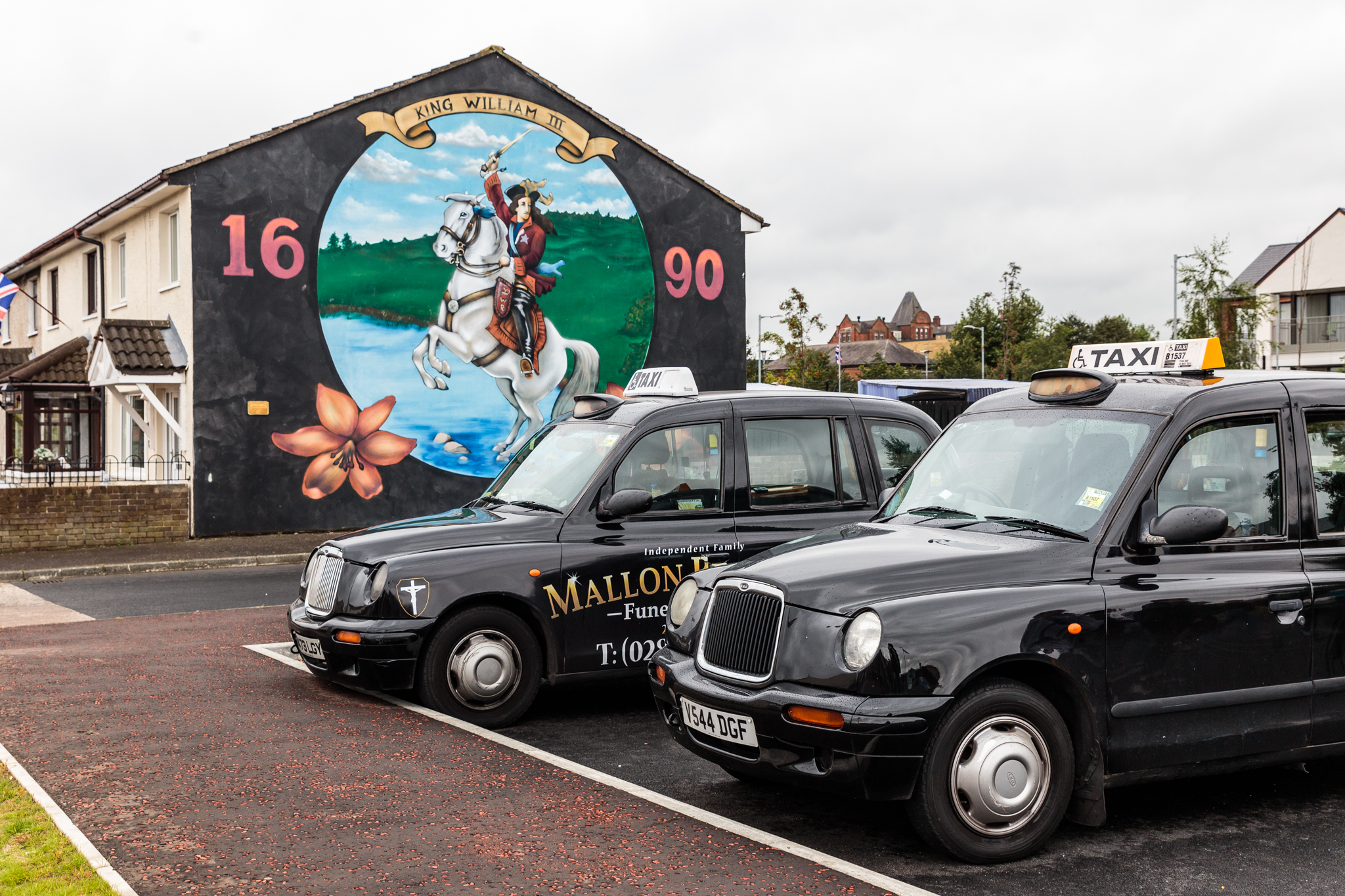 Black Cab Tour of Belfast