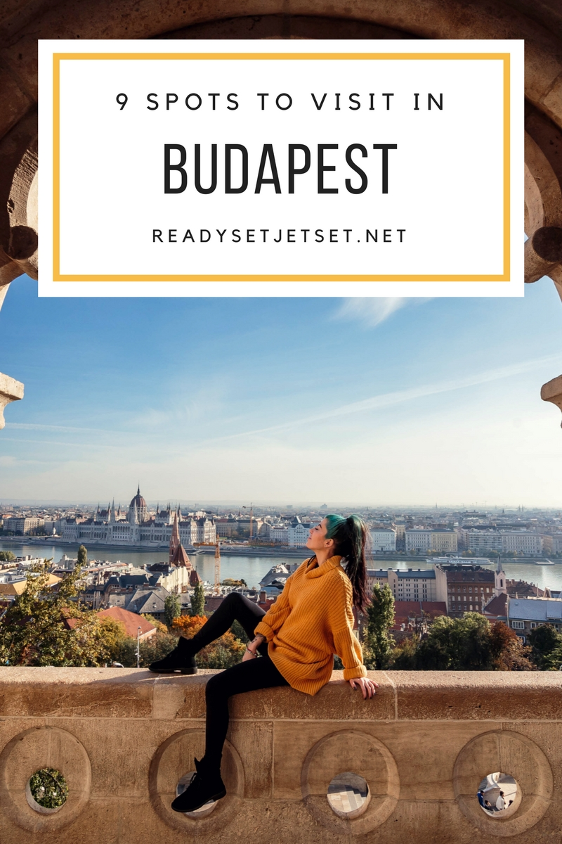 9 Places to Visit in Budapest During Your Cruise Stop // #readysetjetset #budapest #hungary #travel www.readysetjetset.net
