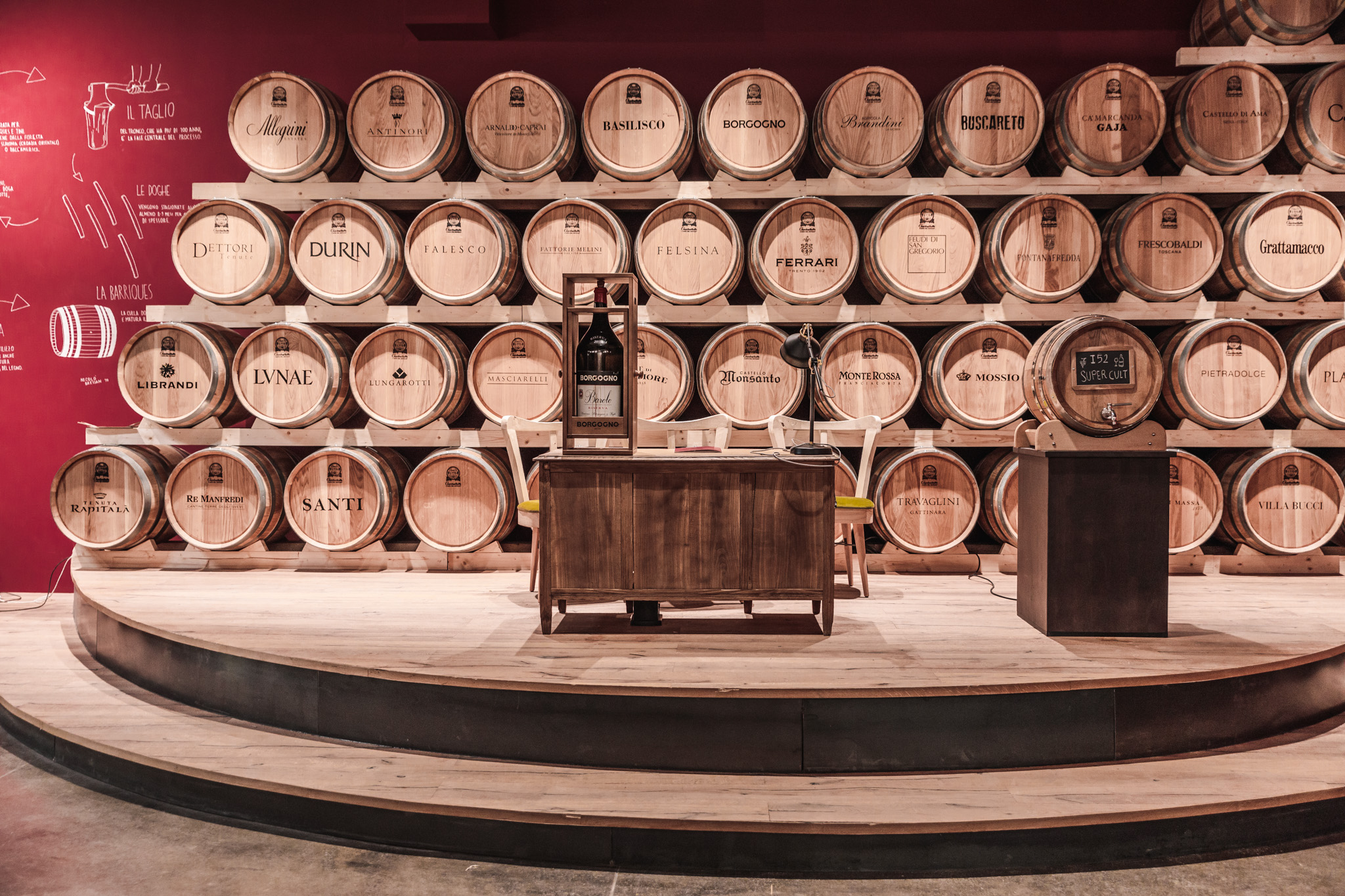 A place for wine lectures