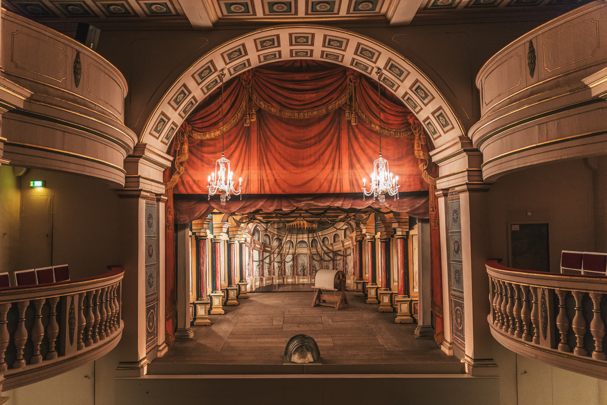 The theatre inside Friedenstein Palace // German Christmas Markets and Beyond: A Trip to Thuringia in December