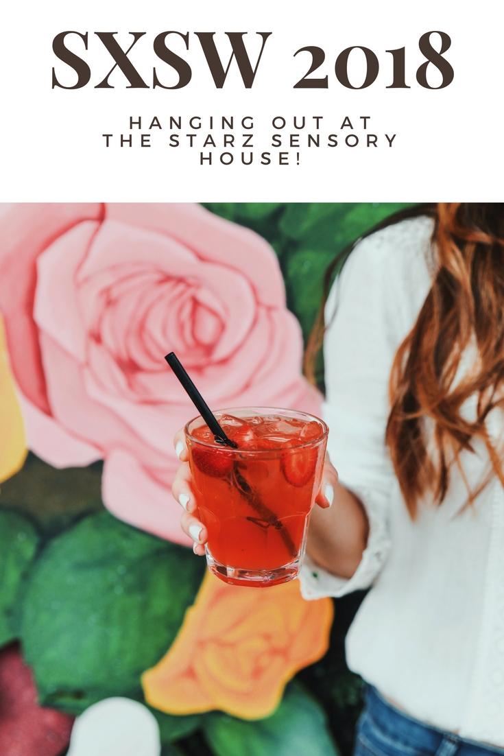 Hanging Out at the STARZ Sensory House at SXSW 2018 // www.readysetjetset.net #austin #texas #readysetjetset #atx #sxsw #austintx #starz #television #sweetbitter