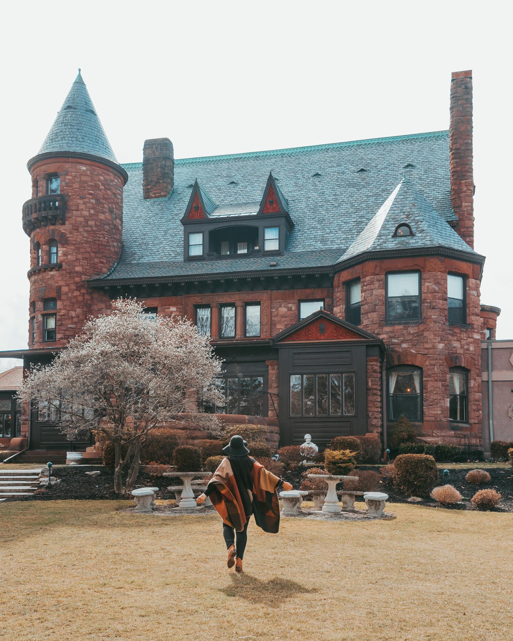 Belhurst Castle in Geneva, NY // 3 Days in the Finger Lakes: A Wine Trail Itinerary