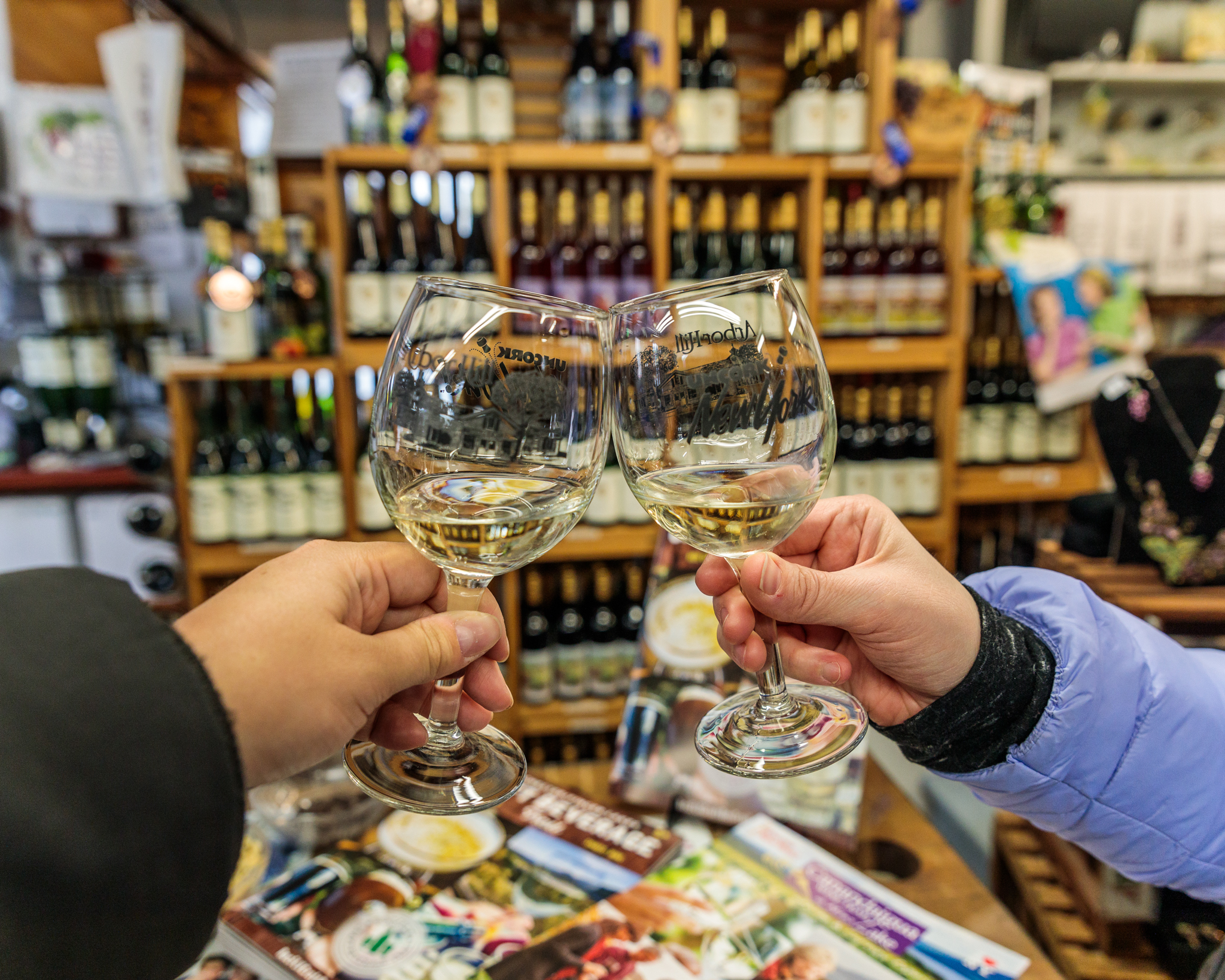 Arbor Hill Winery and Grapery // 3 Days in the Finger Lakes: A Wine Trail Itinerary