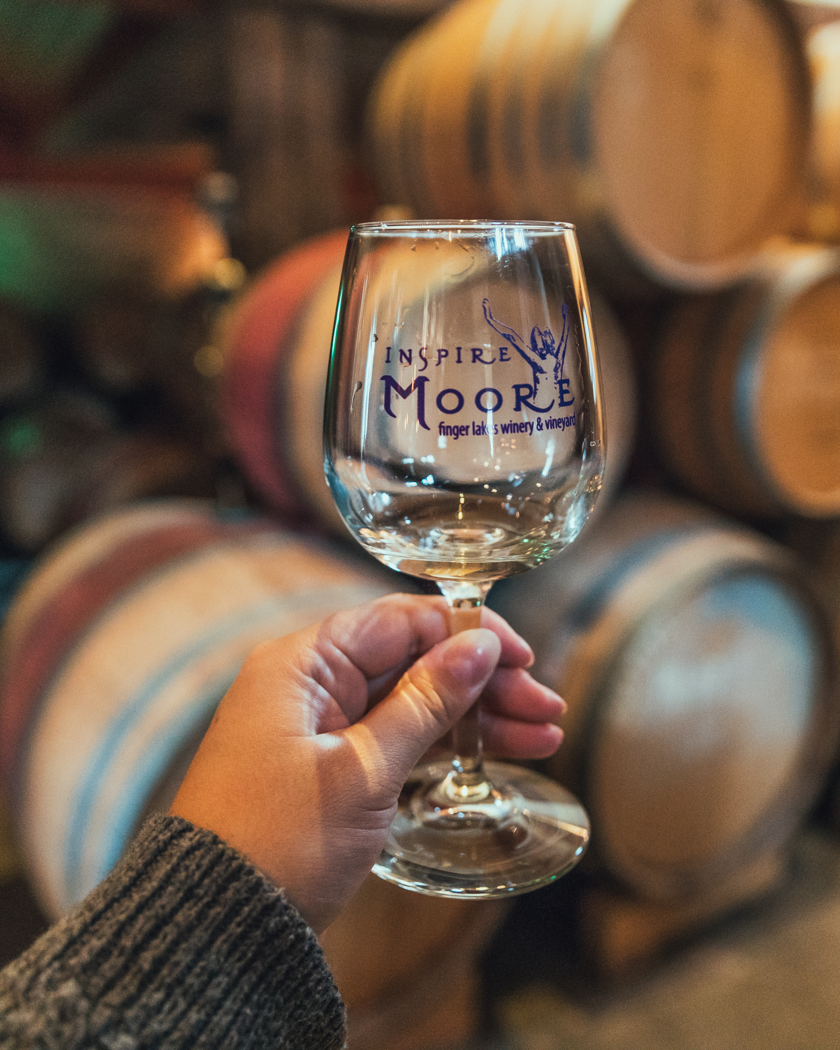 Inspire Moore Winery // 3 Days in the Finger Lakes: A Wine Trail Itinerary