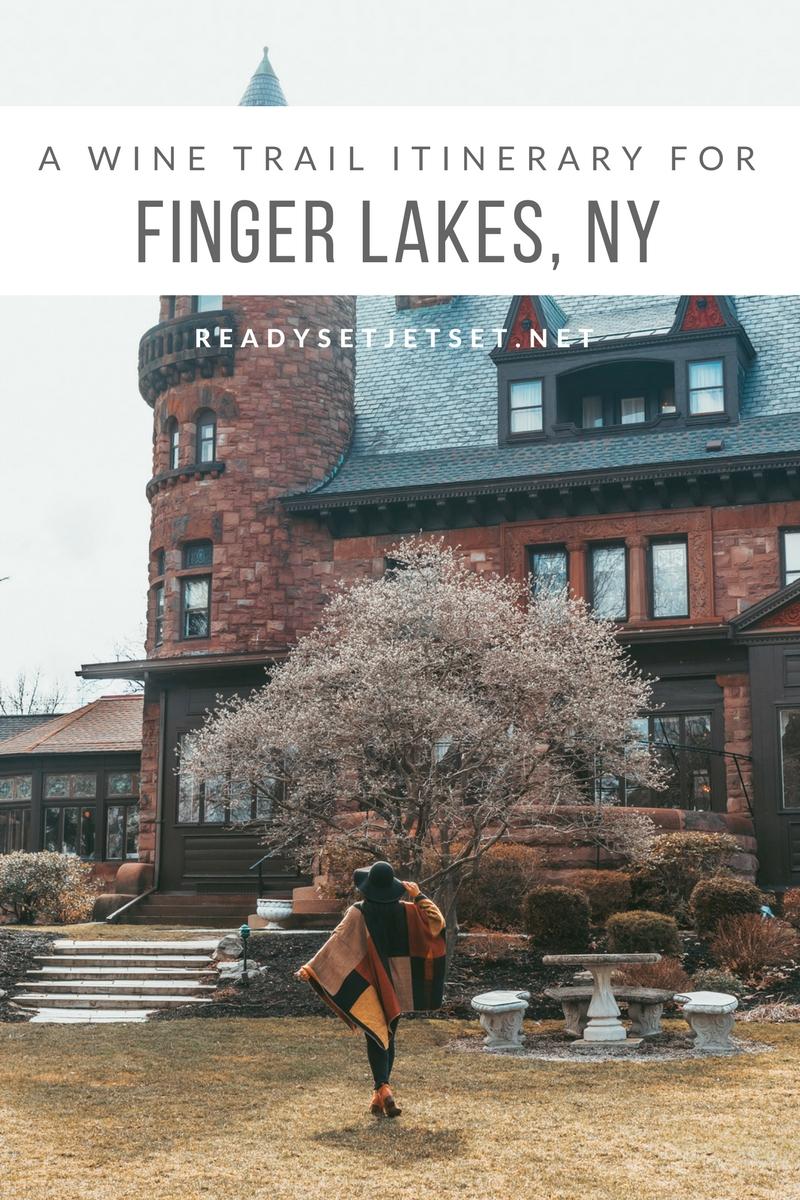 3 DAYS IN THE FINGER LAKES REGION: A WINE TRAIL ITINERARY // www.readysetjetset.net #readysetjetset #usa #travel #fingerlakes #wine #newyork #travelguide #wineries #winetours