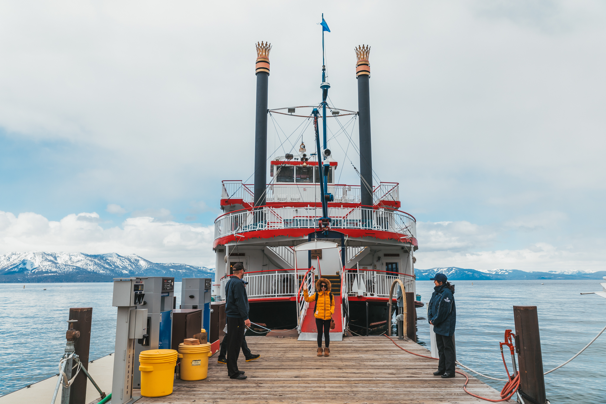 Scenic cruising on Lake Tahoe aboard the M.S. Dixie II // A Quick Guide to North Lake Tahoe & Reno