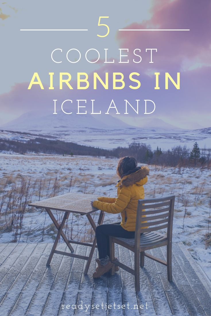 Where To Stay In Iceland: The 5 Coolest Airbnbs // www.readysetjetset.net #readysetjetset #airbnb #iceland #blogpost #travelblog // Here are 5 of the most epic Airbnbs in Iceland, from northern light watching in a wooden igloo to a traditional black house. These are the Airbnbs in Iceland worth splurging on!