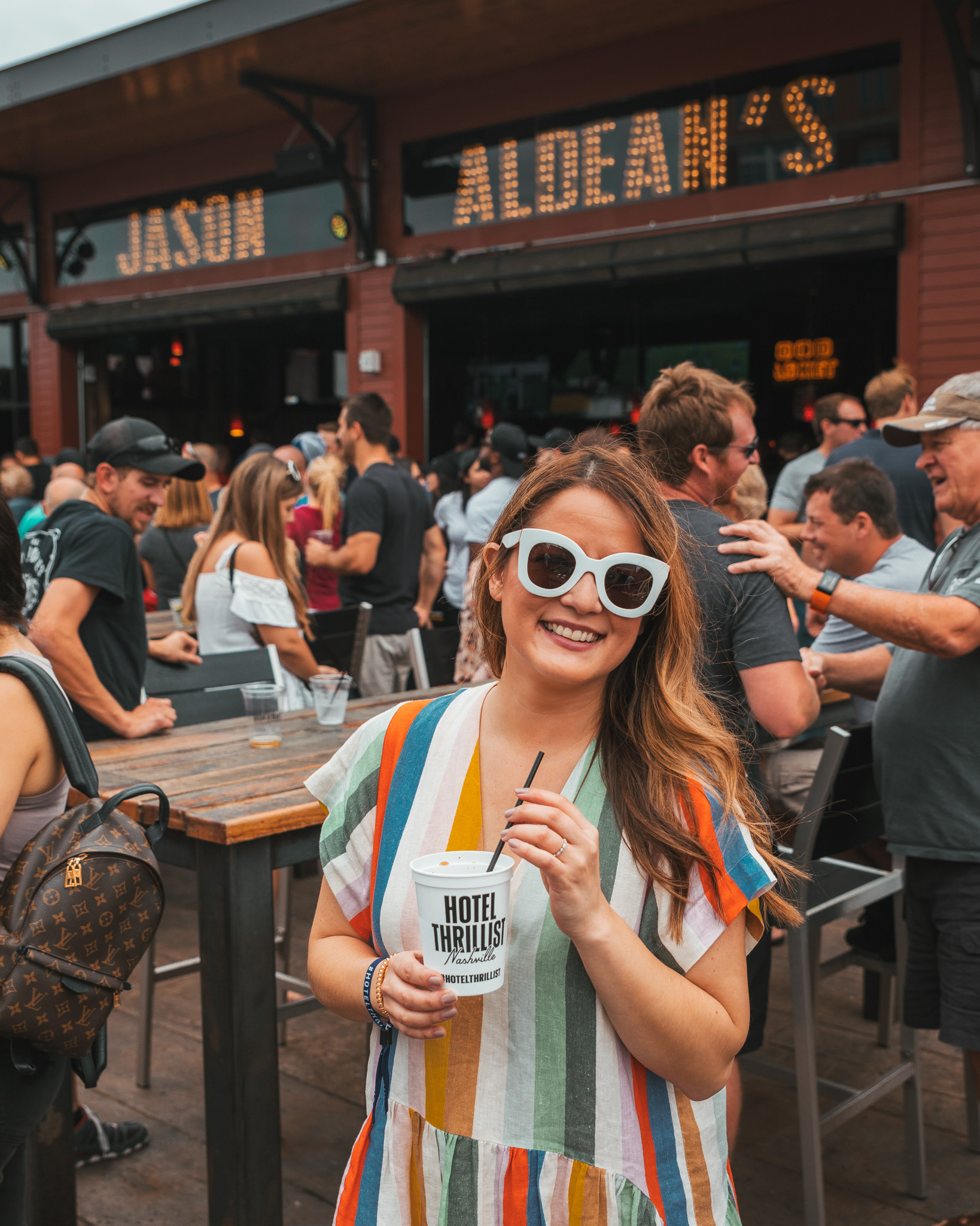 Hotel Thrillist Nashville at Jason Aldean's Bar // A Weekend at Hotel Thrillist #readysetjetset