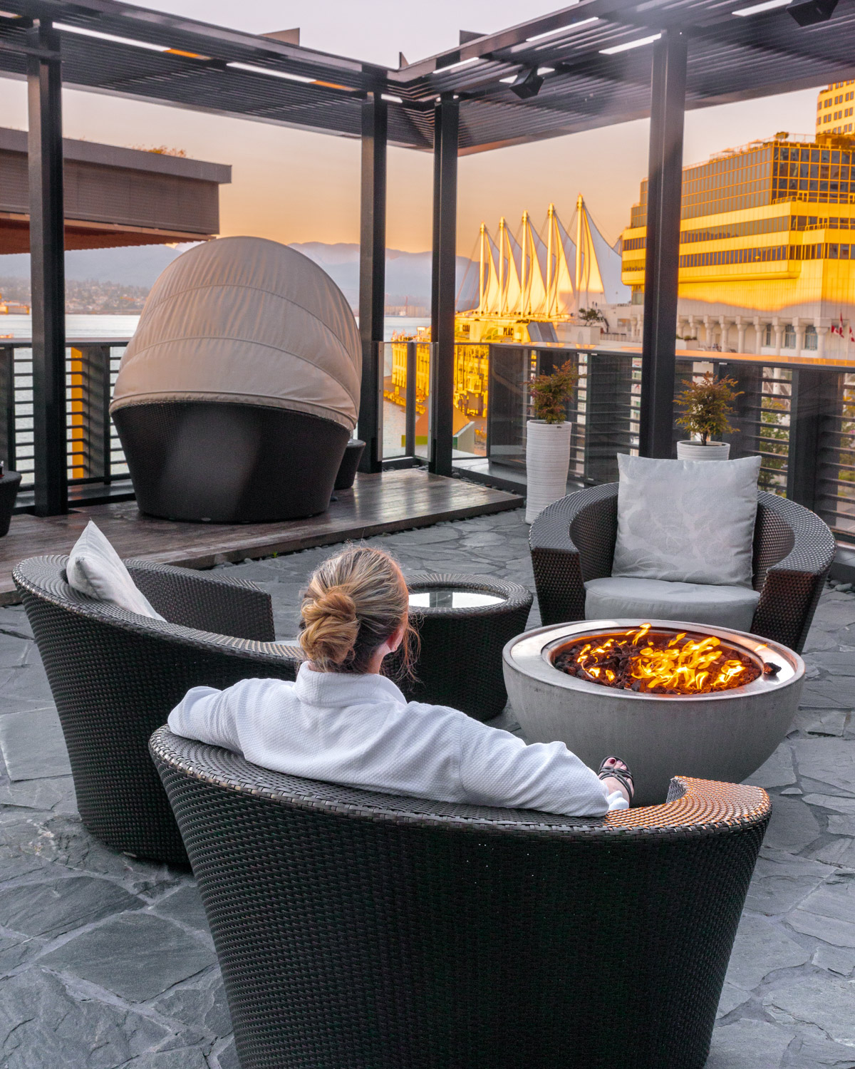 The spa at Fairmont Pacific Rim // The Quick Guide to Visiting Vancouver, BC #readysetjetset