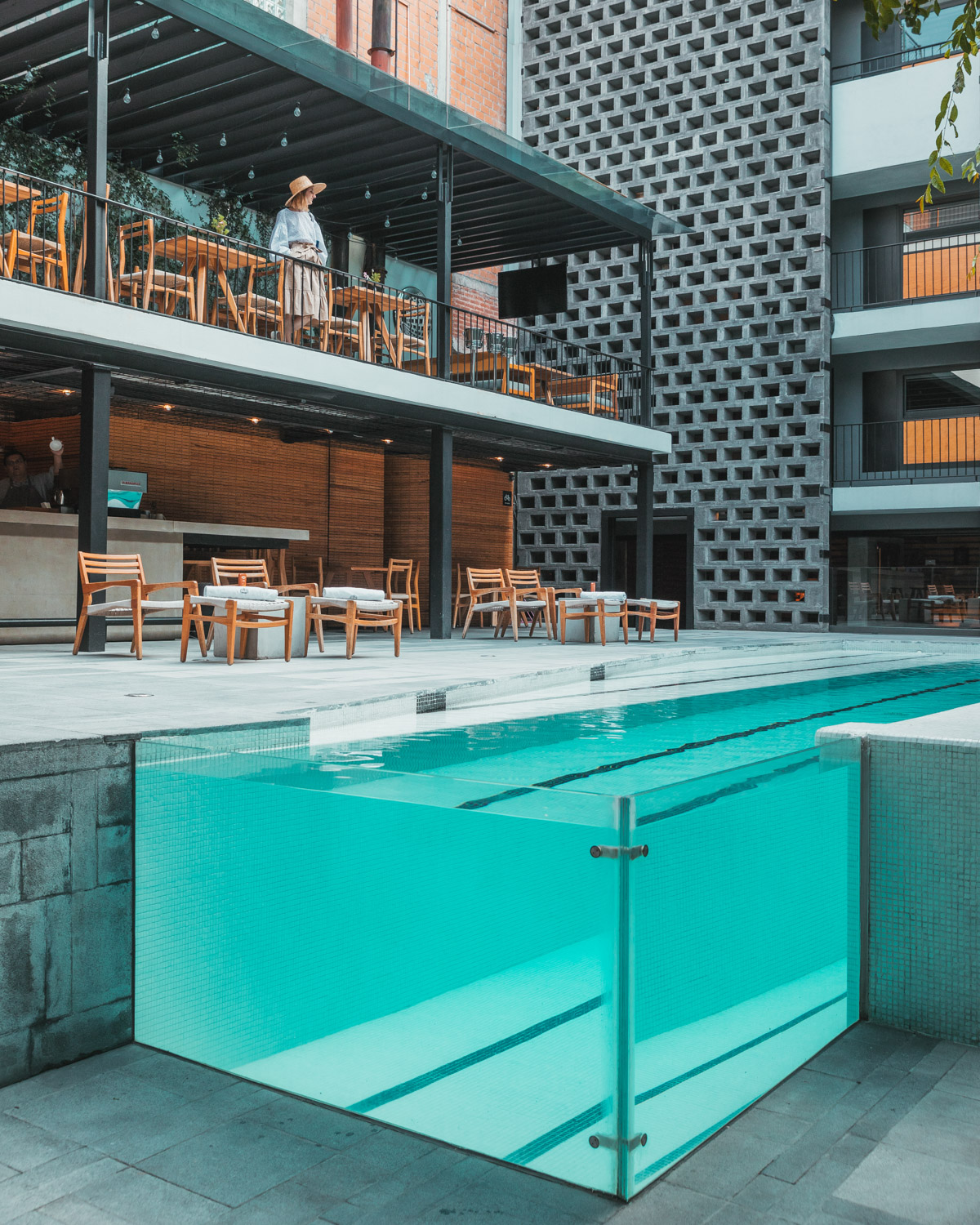 The pool at Hotel Carlota // The Most Instagrammable Spots in Mexico City #readysetjetset