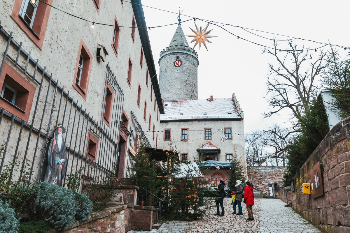 Leuchtenberg Castle // German Christmas Markets and Beyond: A Trip to Thuringia in December