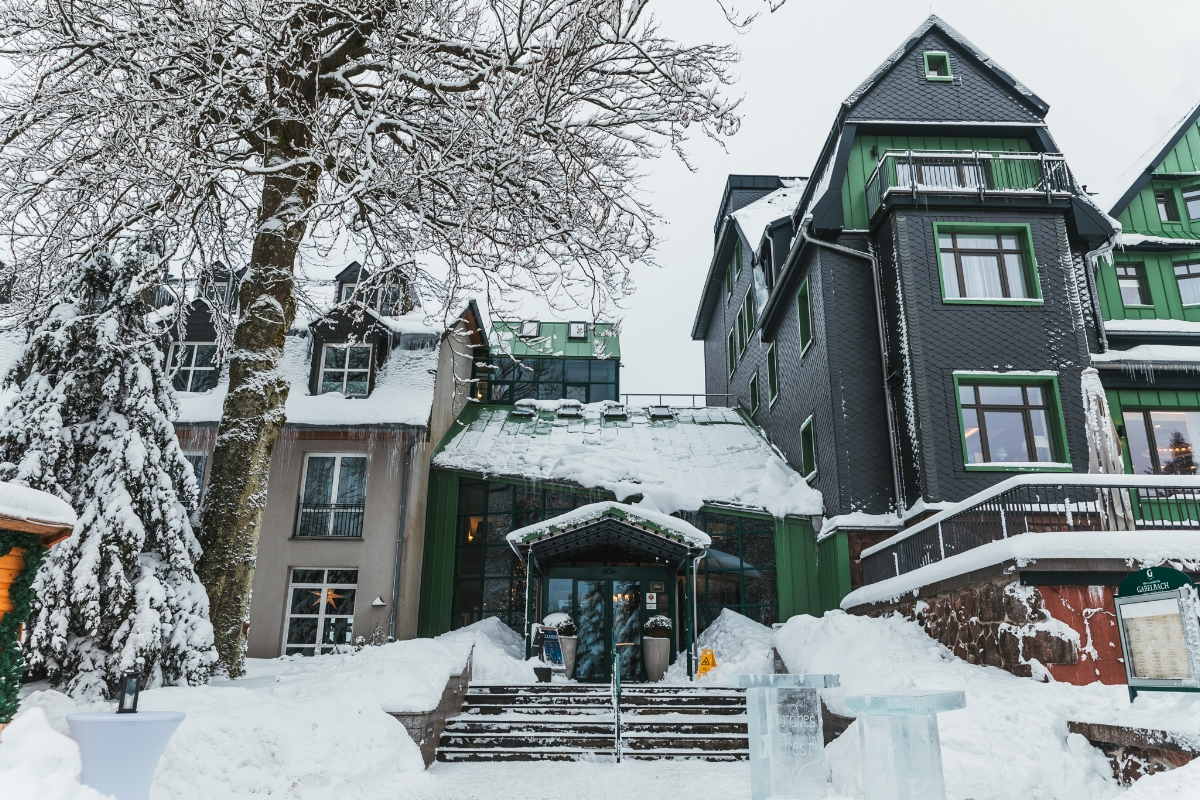 Berg-und-Jagdhotel Gabelbach // German Christmas Markets and Beyond: A Trip to Thuringia in December