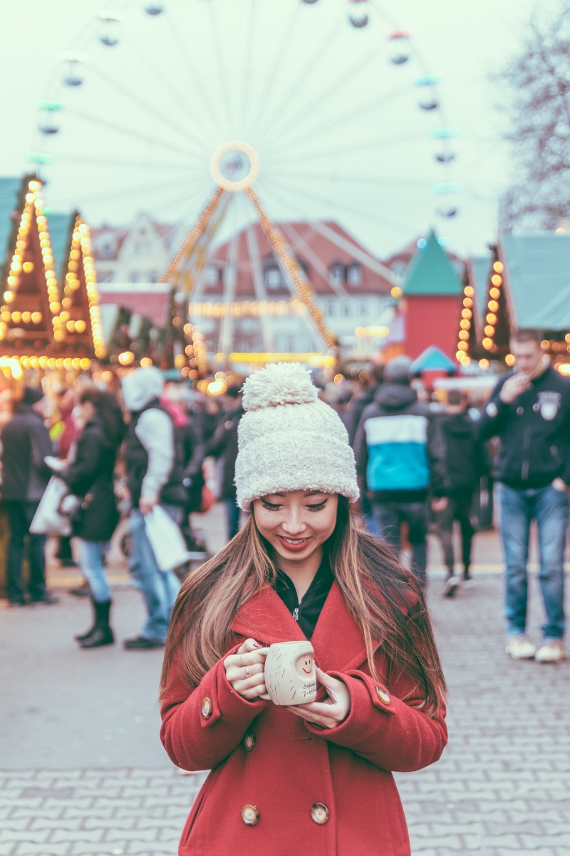 Erfurter Puffbohne  // German Christmas Markets and Beyond: A Trip to Thuringia in December