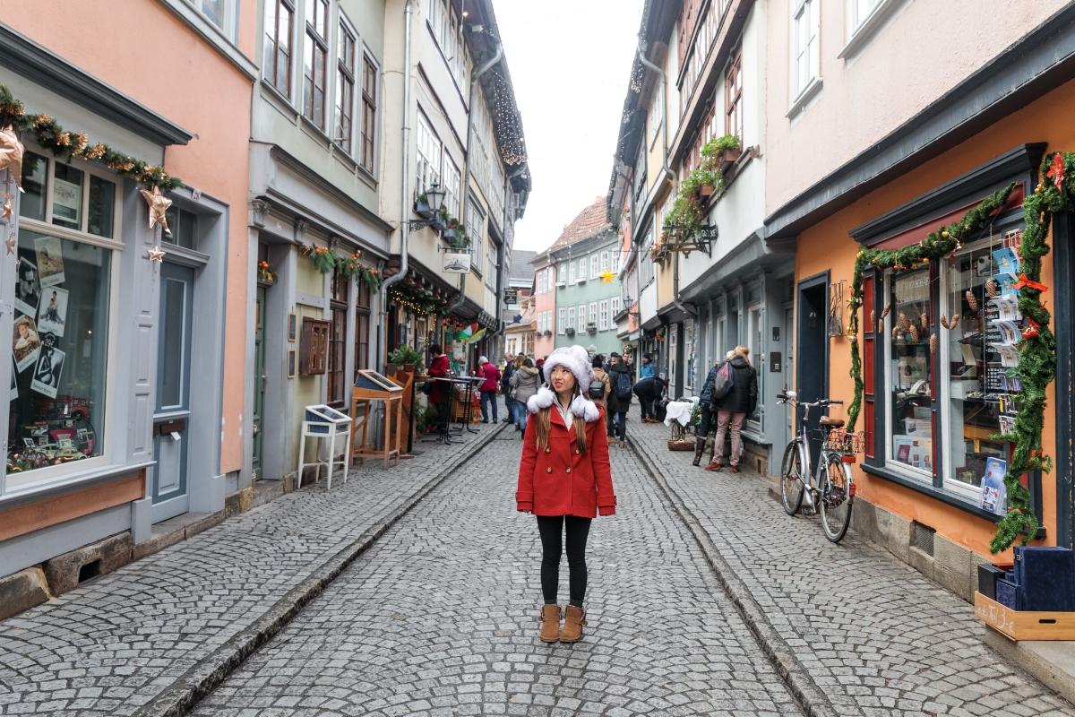 Krämerbrücke in Erfurt // German Christmas Markets and Beyond: A Trip to Thuringia in December