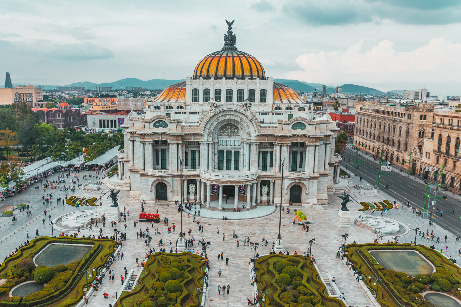 Bellas Artes // The Most Instagrammable Spots in Mexico City #readysetjetset