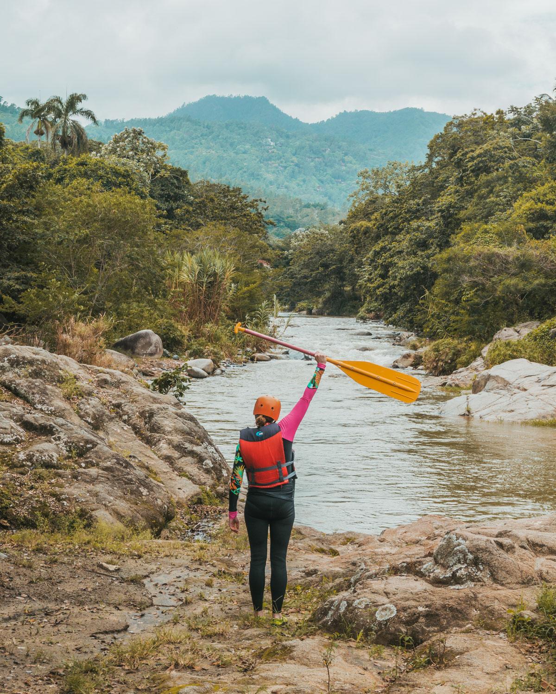 Whitewater Rafting // The Adventure Guide to Jarabacoa, Dominican Republic #readysetjetset #travel #bloggingtips #traveltips #caribbean