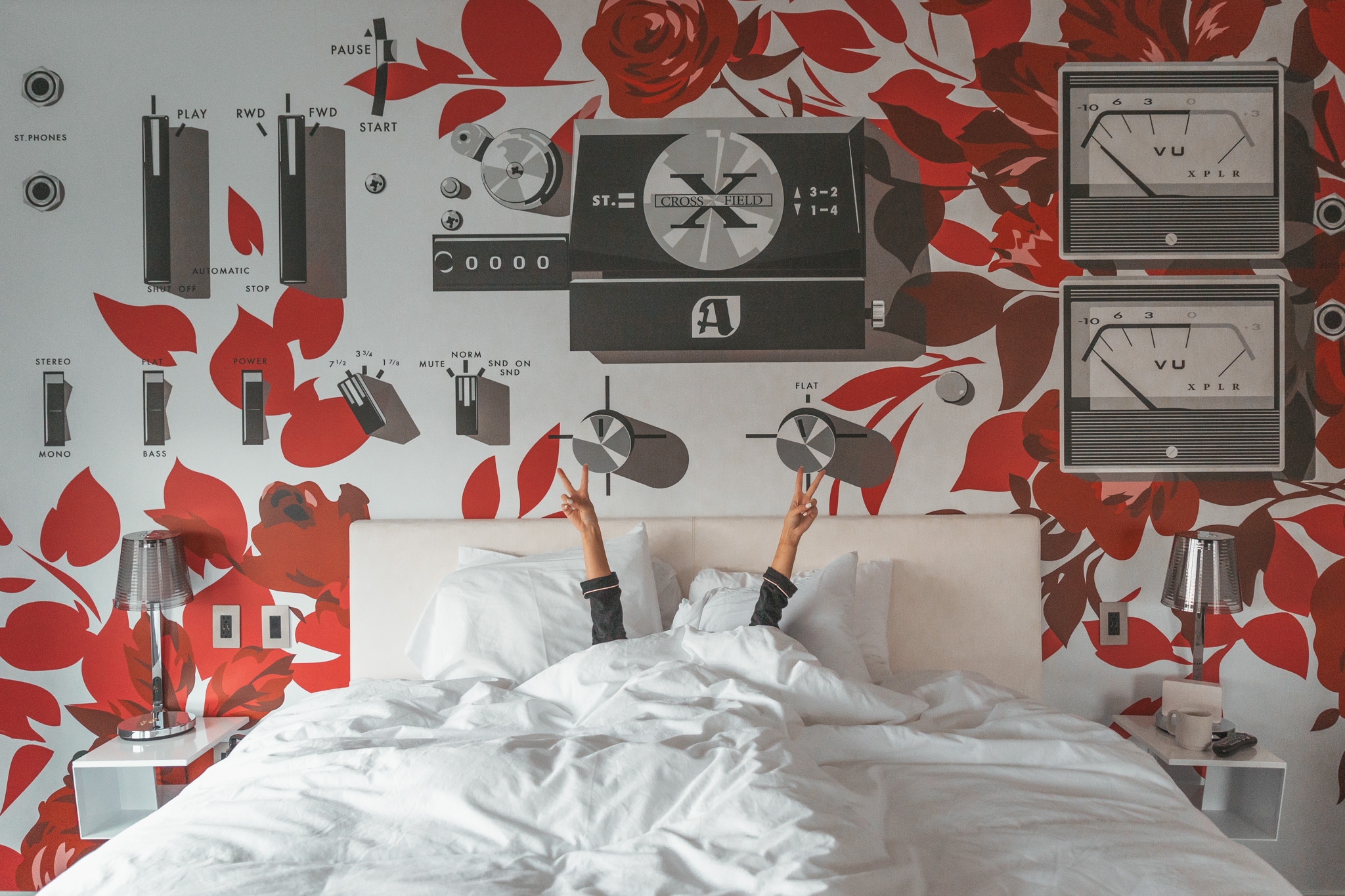 Our room at the Radisson RED Portland // Checking In: The Radisson Red in Downtown Portland, Oregon #readysetjetset #pdx #portland #blogpost #travelguide